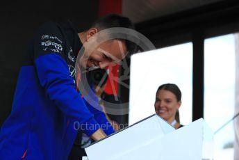 World © Octane Photographic Ltd. Formula 1 – Australian GP. Scuderia Toro Rosso STR14 – Alexander Albon. Thursday 14th Melbourne, Australia. Thursday 14th March 2019.
