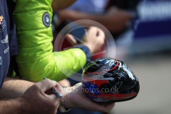 World © Octane Photographic Ltd. Formula 1 – Australian GP. model helmet. Thursday 14th Melbourne, Australia. Thursday 14th March 2019.