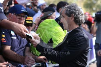 World © Octane Photographic Ltd. Formula 1 - Australian GP - Wednesday. Alain Prost – Special Advisor to Renault Sport Formula 1 Team. Albert Park, Melbourne, Australia. Thursday 14th March 2019