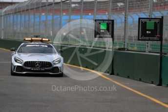 World © Octane Photographic Ltd. Formula 1 – Australian GP.  Mercedes AMG GT Safety car on track. Albert Park, Melbourne, Australia. Wednesday 13th March 2019.