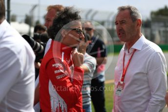 World © Octane Photographic Ltd. Formula 1 - Australian GP - Wednesday - Track Walk. Laurent Mekies – Scuderia Ferrari Sporting Director. Albert Park, Melbourne, Australia. Wednesday 13th March 2019