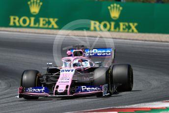 World © Octane Photographic Ltd. Formula 1 – Austrian GP - Practice 2. SportPesa Racing Point RP19 - Sergio Perez. Red Bull Ring, Spielberg, Styria, Austria. Friday 28th June 2019.