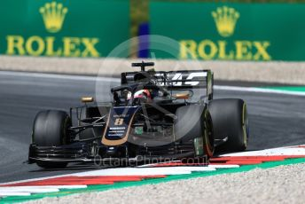 World © Octane Photographic Ltd. Formula 1 – Austrian GP - Practice 2. Rich Energy Haas F1 Team VF19 – Romain Grosjean. Red Bull Ring, Spielberg, Styria, Austria. Friday 28th June 2019.