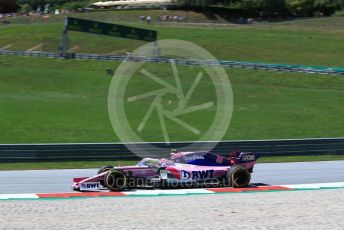 World © Octane Photographic Ltd. Formula 1 – Austrian GP - Practice 2. SportPesa Racing Point RP19 – Lance Stroll. Red Bull Ring, Spielberg, Styria, Austria. Friday 28th June 2019.