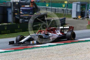 World © Octane Photographic Ltd. Formula 1 – Austrian GP - Practice 2. Alfa Romeo Racing C38 – Kimi Raikkonen. Red Bull Ring, Spielberg, Styria, Austria. Friday 28th June 2019.