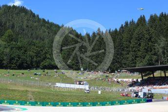 World © Octane Photographic Ltd. Formula 1 – Austrian GP - Practice 2. Fans. Red Bull Ring, Spielberg, Styria, Austria. Friday 28th June 2019.