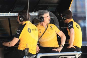 World © Octane Photographic Ltd. Formula 1 - Austrian GP. Practice 3. Nick Chester – Chassis Technical Director at Renault Sport Formula 1 Team. Red Bull Ring, Spielberg, Styria, Austria. Saturday 29th June 2019.