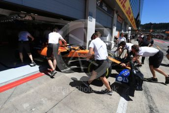 World © Octane Photographic Ltd. Formula 1 – Austrian GP - Practice 3. McLaren MCL34 – Lando Norris. Red Bull Ring, Spielberg, Styria, Austria. Saturday 29th June 2019.