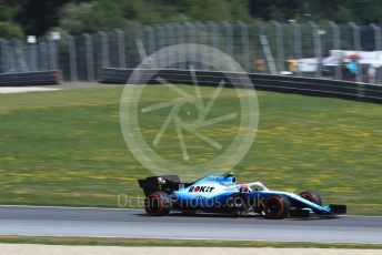 World © Octane Photographic Ltd. Formula 1 – Austrian GP - Qualifying. ROKiT Williams Racing FW42 – Robert Kubica. Red Bull Ring, Spielberg, Styria, Austria. Saturday 29th June 2019.