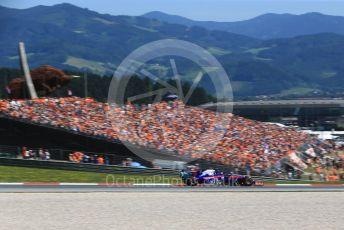 World © Octane Photographic Ltd. Formula 1 – Austrian GP - Qualifying. Scuderia Toro Rosso STR14 – Alexander Albon. Red Bull Ring, Spielberg, Styria, Austria. Saturday 29th June 2019.