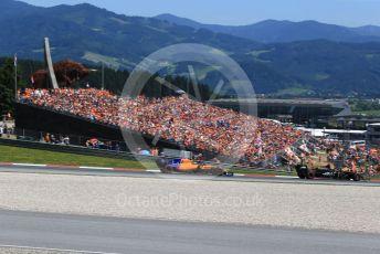 World © Octane Photographic Ltd. Formula 1 – Austrian GP - Qualifying. McLaren MCL34 – Lando Norris. Red Bull Ring, Spielberg, Styria, Austria. Saturday 29th June 2019.