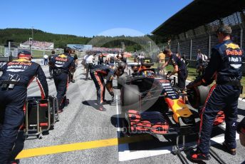 World © Octane Photographic Ltd. Formula 1 – Austrian GP - Grid. Aston Martin Red Bull Racing RB15 – Pierre Gasly. Red Bull Ring, Spielberg, Styria, Austria. Sunday 30th June 2019