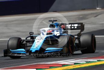 World © Octane Photographic Ltd. Formula 1 – Austrian GP - Practice 1. ROKiT Williams Racing FW 42 – George Russell. Red Bull Ring, Spielberg, Styria, Austria. Friday 28th June 2019.