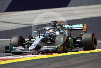 World © Octane Photographic Ltd. Formula 1 – Austrian GP - Practice 1. Mercedes AMG Petronas Motorsport AMG F1 W10 EQ Power+ - Lewis Hamilton. Red Bull Ring, Spielberg, Styria, Austria. Friday 28th June 2019.