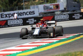 World © Octane Photographic Ltd. Formula 1 – Austrian GP - Practice 1. Alfa Romeo Racing C38 – Antonio Giovinazzi. Red Bull Ring, Spielberg, Styria, Austria. Friday 28th June 2019.
