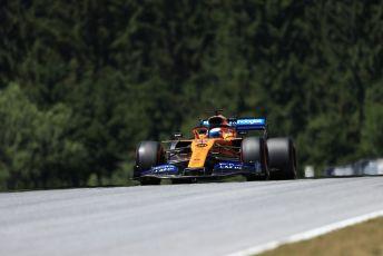 World © Octane Photographic Ltd. Formula 1 – Austrian GP - Practice 1. McLaren MCL34 – Carlos Sainz. Red Bull Ring, Spielberg, Styria, Austria. Friday 28th June 2019.