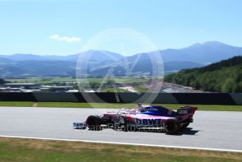 World © Octane Photographic Ltd. Formula 1 – Austrian GP - Practice 1. SportPesa Racing Point RP19 - Sergio Perez. Red Bull Ring, Spielberg, Styria, Austria. Friday 28th June 2019.