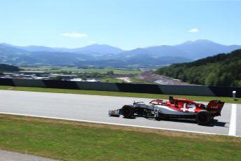 World © Octane Photographic Ltd. Formula 1 – Austrian GP - Practice 1. Alfa Romeo Racing C38 – Kimi Raikkonen. Red Bull Ring, Spielberg, Styria, Austria. Friday 28th June 2019.