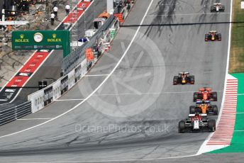 World © Octane Photographic Ltd. Formula 1 – Austrian GP - Race. Alfa Romeo Racing C38 – Kimi Raikkonen. Red Bull Ring, Spielberg, Styria, Austria. Sunday 30th June 2019
