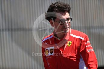 World © Octane Photographic Ltd. Formula 1 - Austrian GP - Paddock. Mattia Binotto – Team Principal of Scuderia Ferrari. Red Bull Ring, Spielberg, Styria, Austria. Sunday 30th June 2019