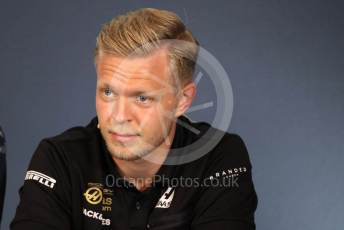 World © Octane Photographic Ltd. Formula 1 – Austrian GP - Paddock. FIA Drivers Press Conference. Rich Energy Haas F1 Team VF19 – Kevin Magnussen. Red Bull Ring, Spielberg, Styria, Austria. Thursday 27th June 2019.