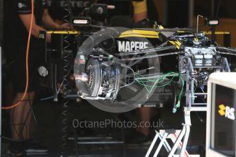 World © Octane Photographic Ltd. Formula 1 – Austrian GP - Pit Lane. Renault Sport F1 Team RS19. Red Bull Ring, Spielberg, Styria, Austria. Thursday 27th June 2019.