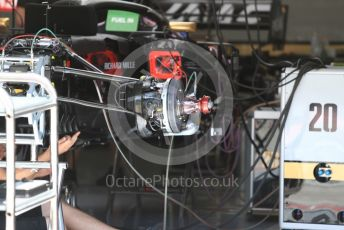 World © Octane Photographic Ltd. Formula 1 – Austrian GP - Pit Lane. Rich Energy Haas F1 Team VF19. Red Bull Ring, Spielberg, Styria, Austria. Thursday 27th June 2019.