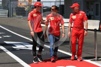 World © Octane Photographic Ltd. Formula 1 – Austrian GP. Pit Lane. Scuderia Ferrari SF90 – Charles Leclerc. Red Bull Ring, Spielberg, Styria, Austria. Thursday 27th June 2019.