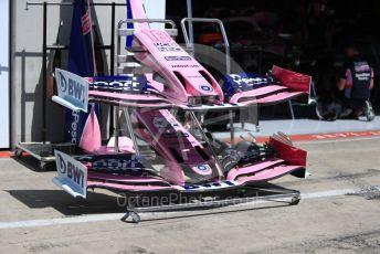 World © Octane Photographic Ltd. Formula 1 – Austrian GP - Pit Lane. SportPesa Racing Point RP19. Red Bull Ring, Spielberg, Styria, Austria. Thursday 27th June 2019.