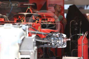 World © Octane Photographic Ltd. Formula 1 – Austrian GP - Pit Lane. Scuderia Ferrari SF90. Red Bull Ring, Spielberg, Styria, Austria. Thursday 27th June 2019.