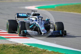 World © Octane Photographic Ltd. Formula 1 – Winter Testing - Test 1 - Day 1. Mercedes AMG Petronas Motorsport AMG F1 W10 EQ Power+ - Valtteri Bottas. Circuit de Barcelona-Catalunya. Monday 18th February 2019