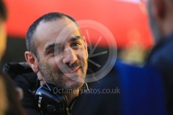 World © Octane Photographic Ltd. Formula 1 - Winter Testing - Test 1 - Day 1. Cyril Abiteboul - Managing Director of Renault Sport Racing Formula 1 Team. Circuit de Barcelona-Catalunya. Monday 18th February 2019