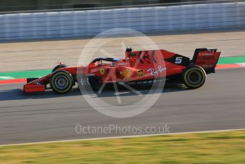 World © Octane Photographic Ltd. Formula 1 – Winter Testing - Test 1 - Day 1. Scuderia Ferrari SF90 – Sebastian Vettel. Circuit de Barcelona-Catalunya. Monday 18th February 2019.