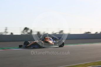 World © Octane Photographic Ltd. Formula 1 – Winter Testing - Test 1 - Day 1. McLaren MCL34 – Carlos Sainz. Circuit de Barcelona-Catalunya. Monday 18th February 2019.