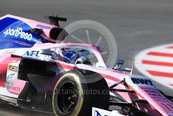 World © Octane Photographic Ltd. Formula 1 – Winter Testing - Test 1 - Day 1. SportPesa Racing Point RP19 - Sergio Perez. Circuit de Barcelona-Catalunya. Monday 18th February 2019.
