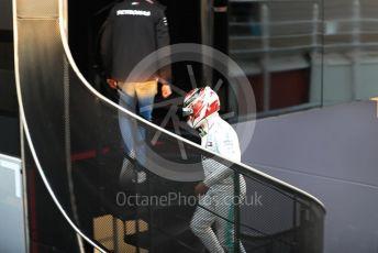 World © Octane Photographic Ltd. Formula 1 – Winter Testing - Test 1 - Day 1. Mercedes AMG Petronas Motorsport AMG F1 W10 EQ Power+ - Lewis Hamilton. Circuit de Barcelona-Catalunya. Monday 18th February 2019.