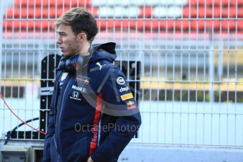 World © Octane Photographic Ltd. Formula 1 – Winter Testing - Test 1 - Day 1. Aston Martin Red Bull Racing RB15 – Pierre Gasly. Circuit de Barcelona-Catalunya. Monday 18th February 2019.