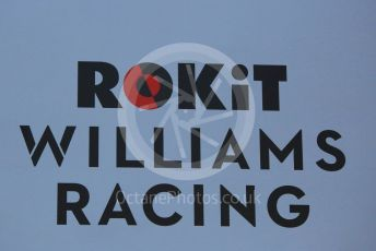 World © Octane Photographic Ltd. Formula 1 – Winter Testing - Test 1 - Day 1. Rokit Williams Racing logo. Circuit de Barcelona-Catalunya. Monday 18th February 2019.