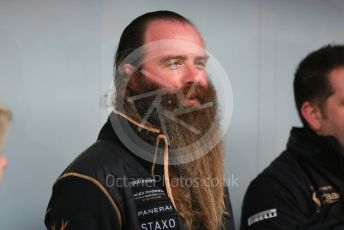 World © Octane Photographic Ltd. Formula 1 - Winter Testing - Test 1 - Day 1. William Storey CEO of Rich Energy. Circuit de Barcelona-Catalunya. Monday 18th February 2019
