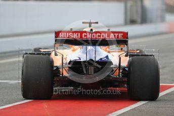 World © Octane Photographic Ltd. Formula 1 – Winter Testing - Test 1 - Day 2. McLaren MCL34 – Lando Norris. Circuit de Barcelona-Catalunya. Tuesday 19th February 2019.