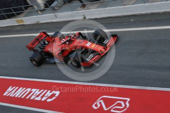 World © Octane Photographic Ltd. Formula 1 – Winter Testing - Test 1 - Day 2. Scuderia Ferrari SF90 – Charles Leclerc. Circuit de Barcelona-Catalunya. Tuesday 19th February 2019.