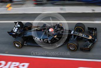 World © Octane Photographic Ltd. Formula 1 – Winter Testing - Test 1 - Day 2. Rich Energy Haas F1 Team VF19 – Pietro Fittipaldi. Circuit de Barcelona-Catalunya. Tuesday 19th February 2019.
