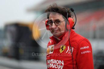 World © Octane Photographic Ltd. Formula 1 - Winter Testing - Test 1 - Day 3. Mattia Binotto – Team Principal of Scuderia Ferrari. Circuit de Barcelona-Catalunya. Wednesday 20th February 2019