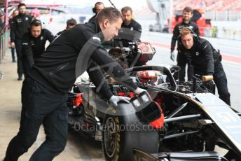 World © Octane Photographic Ltd. Formula 1 – Winter Testing - Test 1 - Day 3. Rich Energy Haas F1 Team VF19 – Pietro Fittipaldi. Circuit de Barcelona-Catalunya. Wednesday 20th February 2019