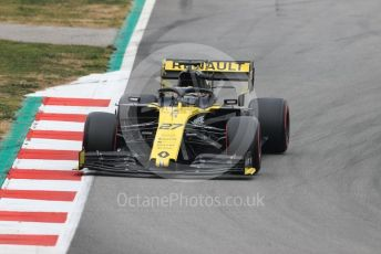 World © Octane Photographic Ltd. Formula 1 – Winter Testing - Test 1 - Day 3. Renault Sport F1 Team RS19 – Nico Hulkenberg. Circuit de Barcelona-Catalunya. Wednesday 20th February 2019.