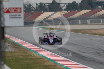 World © Octane Photographic Ltd. Formula 1 – Winter Testing - Test 1 - Day 3. Scuderia Toro Rosso STR14 – Daniil Kvyat. Circuit de Barcelona-Catalunya. Wednesday 20th February 2019.