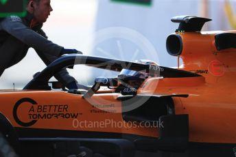 World © Octane Photographic Ltd. Formula 1 – Winter Testing - Test 1 - Day 3. McLaren MCL34 – Carlos Sainz. Circuit de Barcelona-Catalunya. Wednesday 20th February 2019.