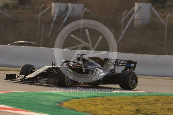 World © Octane Photographic Ltd. Formula 1 – Winter Testing - Test 1 - Day 3. Rich Energy Haas F1 Team VF19 – Romain Grosjean. Circuit de Barcelona-Catalunya. Wednesday 20th February 2019.