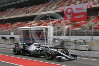 World © Octane Photographic Ltd. Formula 1 – Winter Testing - Test 1 - Day 3. Mercedes AMG Petronas Motorsport AMG F1 W10 EQ Power+ - Valtteri Bottas. Circuit de Barcelona-Catalunya. Wednesday 20th February 2019.