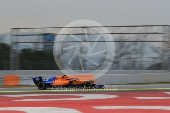 World © Octane Photographic Ltd. Formula 1 – Winter Testing - Test 1 - Day 3. McLaren MCL34 – Carlos Sainz. Circuit de Barcelona-Catalunya. Wednesday 20th February 2019.